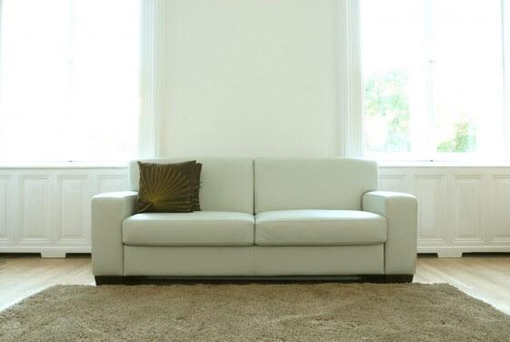 Canapé cuir Neuilly avec coffre de rangement 2,5 places