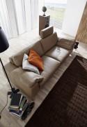 Canapé 3 places IDYL design cuir ou tissu