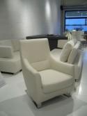 Buddy, fauteuil design cuir ou tissu