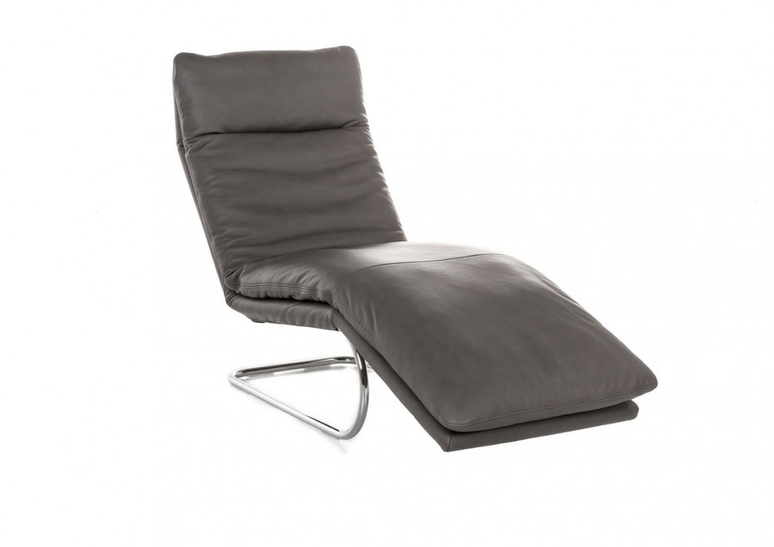 Bodytouch chaise longue flexible en cuir 65 cm for Chaise 65 cm but