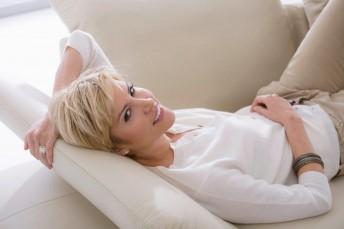 Canapé profondeur assise réglable & appuie-têtes LINEFLEX 3 places design cuir ou tissu