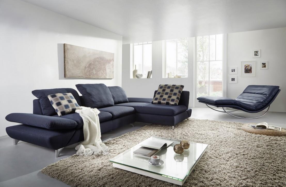 canap 3 places lineflex avec tr s grande chaise longue. Black Bedroom Furniture Sets. Home Design Ideas