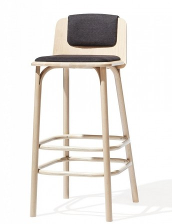 Tabouret bar SPLIT tapiss