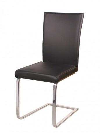 AskiN chaise : lot de 4 chaises design cuir ou tissu