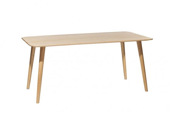 Table rectangulaire scandinave bois ch