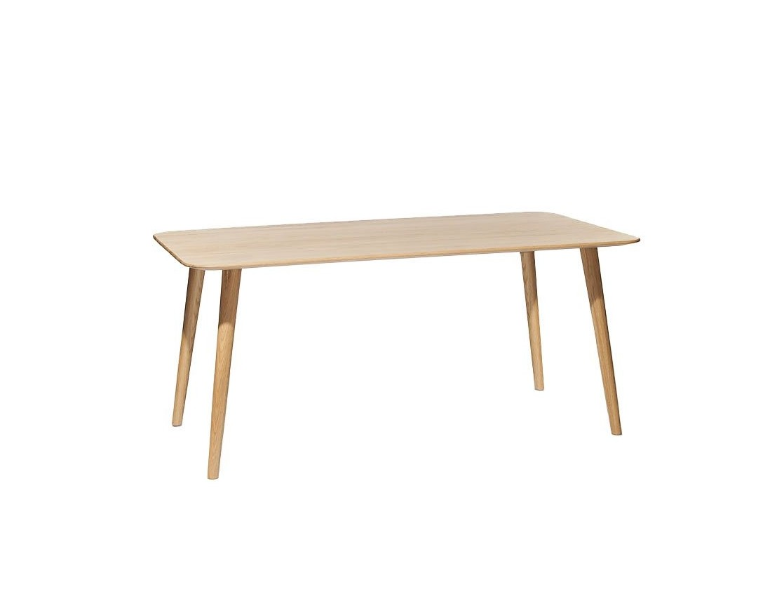 table rectangulaire scandinave bois ch ne malm. Black Bedroom Furniture Sets. Home Design Ideas