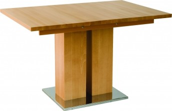Table en hêtre massif MD1 fixe 140 x 80 cm