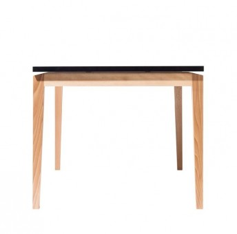 Table carrée en bois design STOCKHOLM 90 x 90 cm