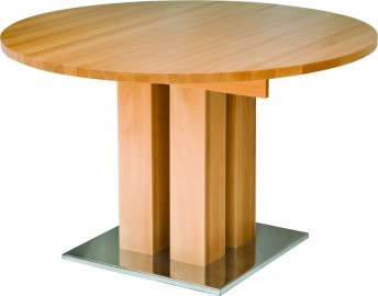 Table ronde fixe MackintoshDeal1 diamètre 90 cm