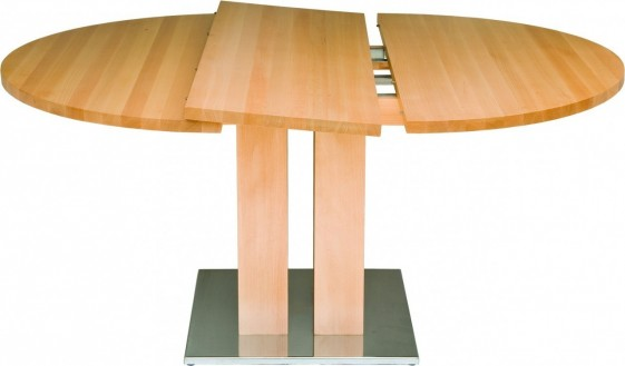 Table ronde à rallonge diamètre 120 cm MackintoshDeal1