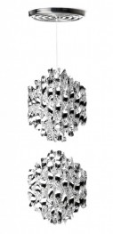 Plafonnier Verpan Double Spirale SP2