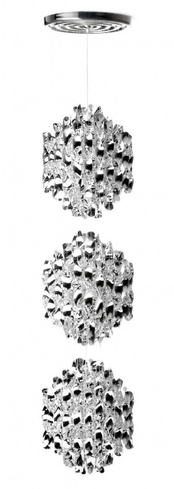 Plafonnier design Verpan Triple Spirale SP3