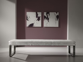 Banc en cuir SoftWay 180 cm