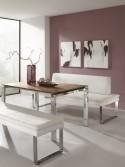 Banquette en cuir SoftWay 140 cm