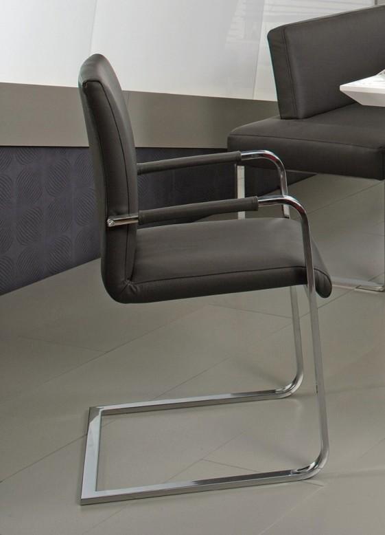 Chaise avec accoudoirs design PUREdining