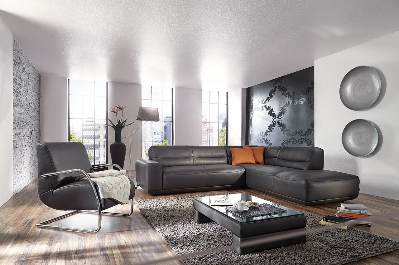 fauteuil barnabe ml et canape cuir gris Blog de Seanroyale