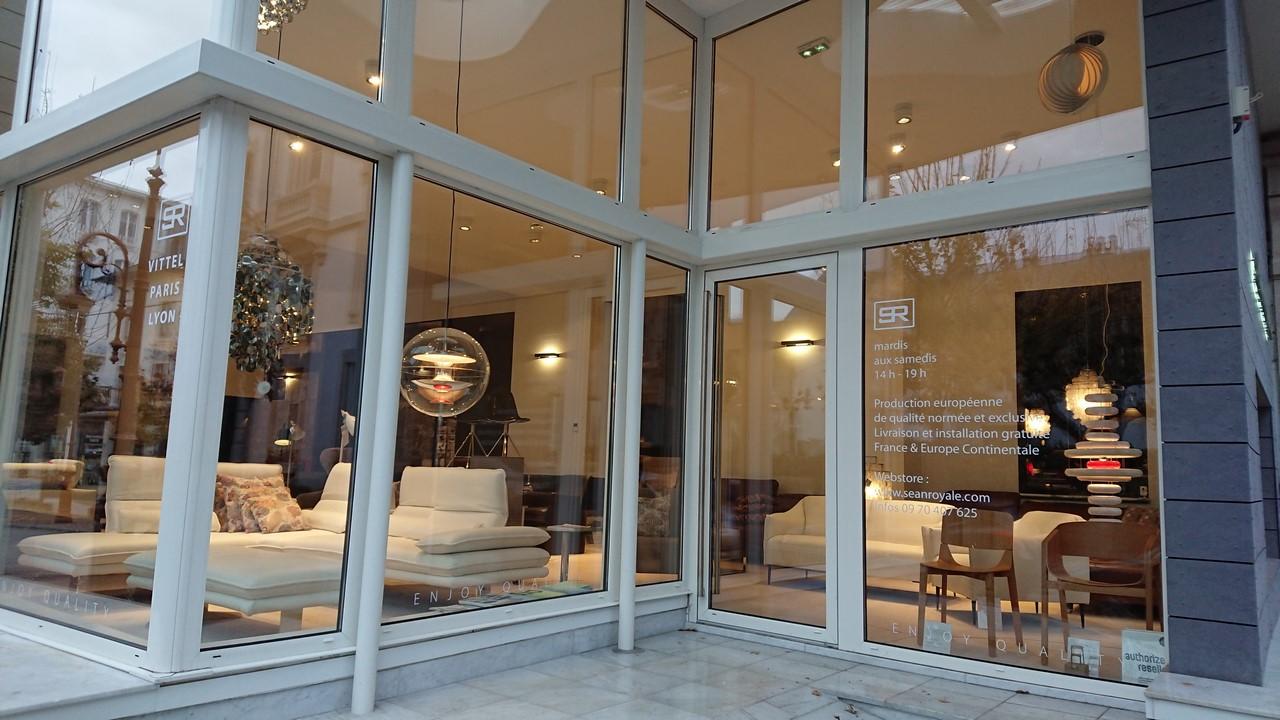 Canapés et salon cuir ou tissu SEANROYALE Vittel