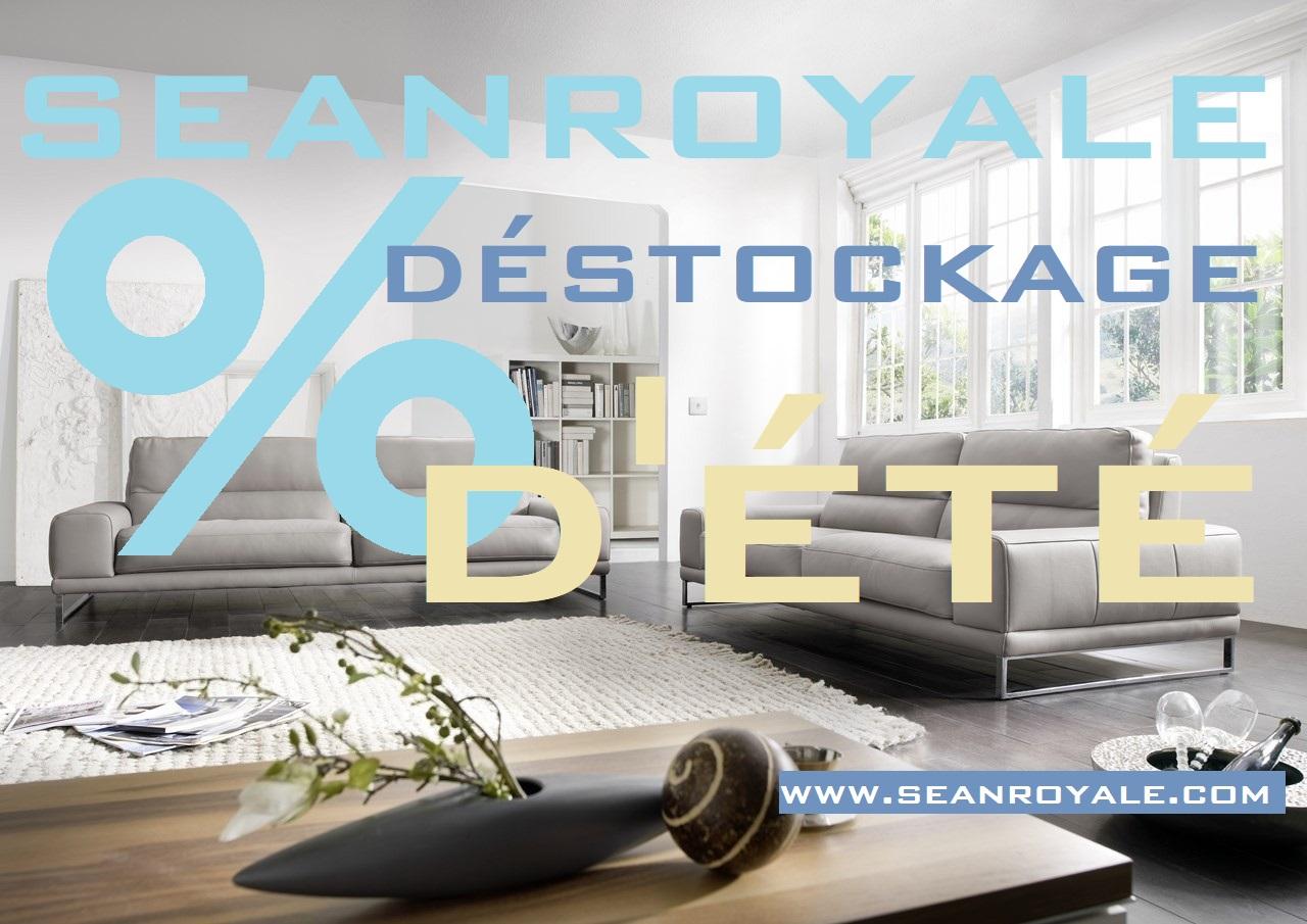 Déstockage mobilier & canapés Seanroyale