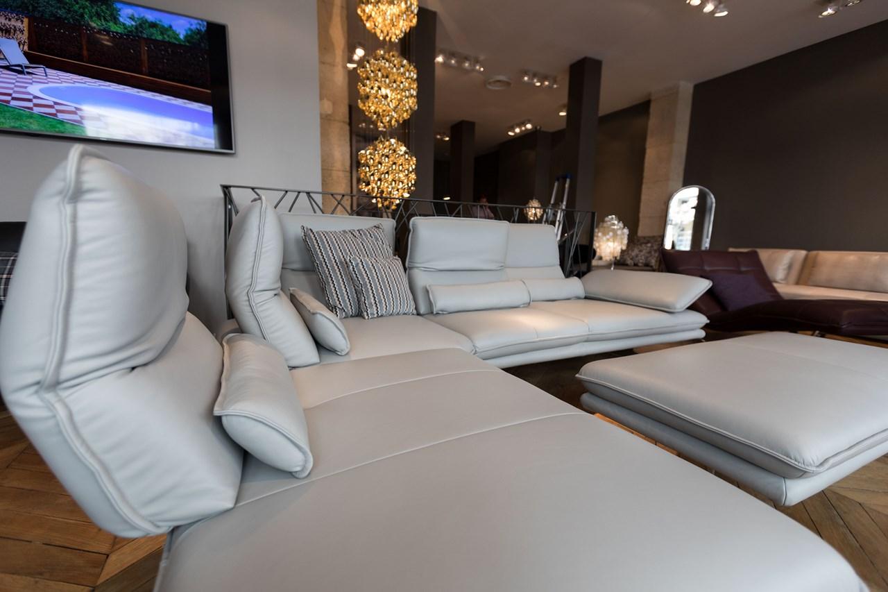 Canapé design contemporain à Paris